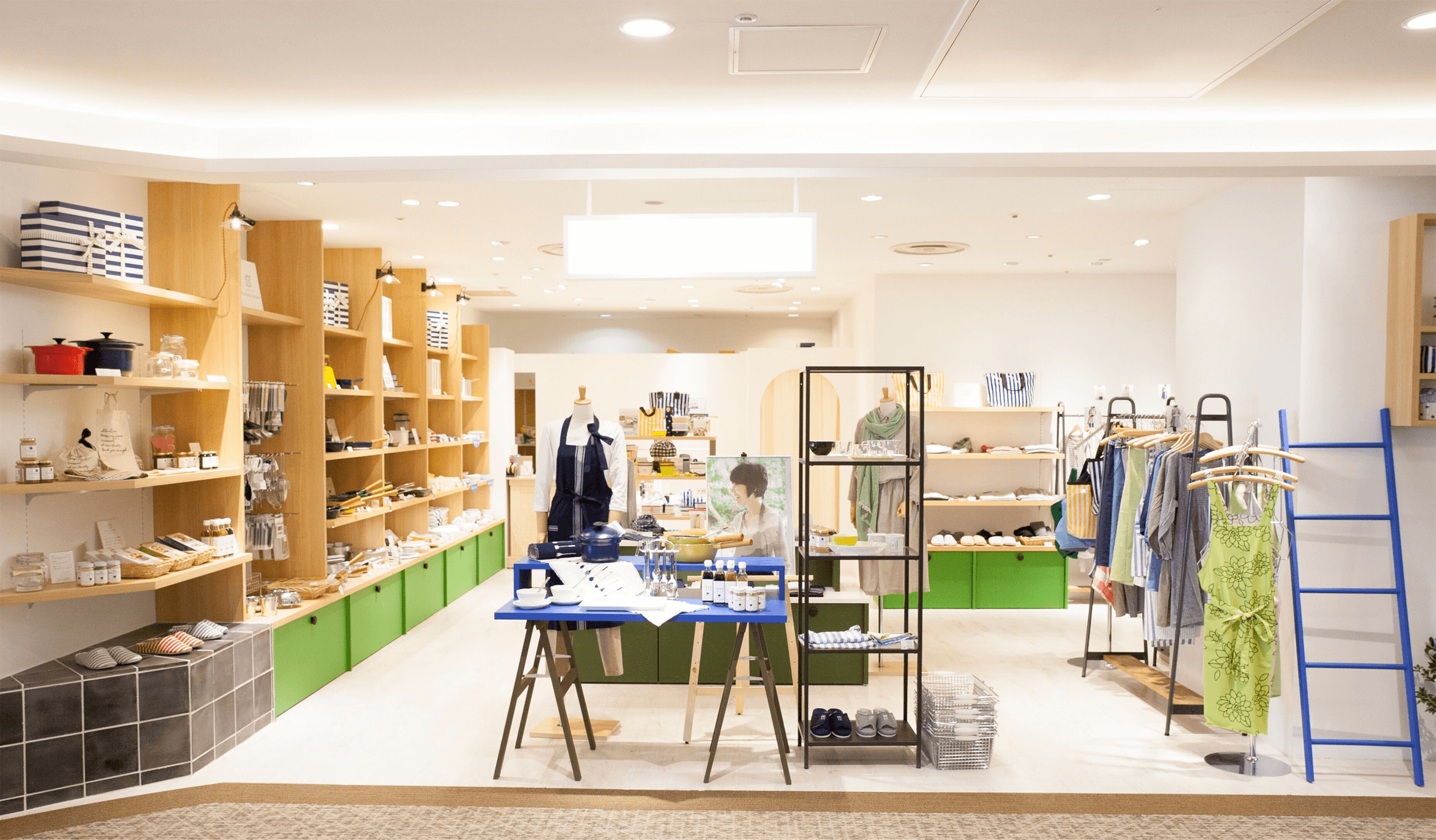 ゆとり の 空間 店舗